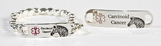 medical ID bracelet for carcinoid cancer