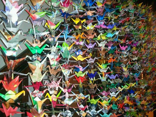 Hanging cranes, Deirdre Durant