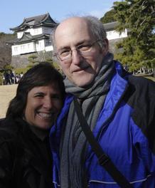 NET cancer survivor Mitchell Berger and his wife, Peg Girshman