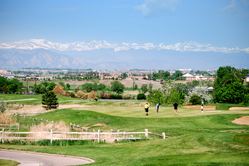 The Thorncreek Golf Course in Thornton, Colorado