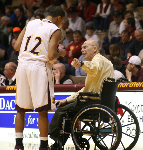 Don Meyer, former Northern State mens basketball coach