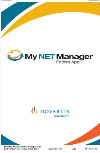 My NET Manager mobile app for carcinoid cancer and neuroendocrine tumor patients goes live