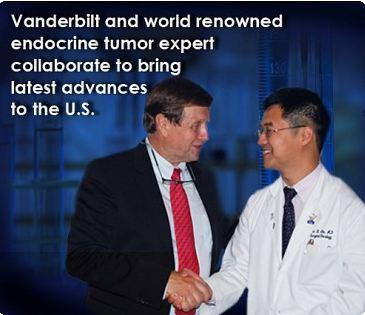 Dr. Eric Liu from Vanderbilt University and Dr. Kjell Oberg from Uppsala University in Sweden
