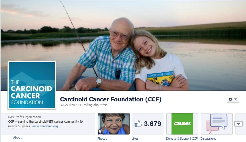 Carcinoid Cancer Foundation on Facebook