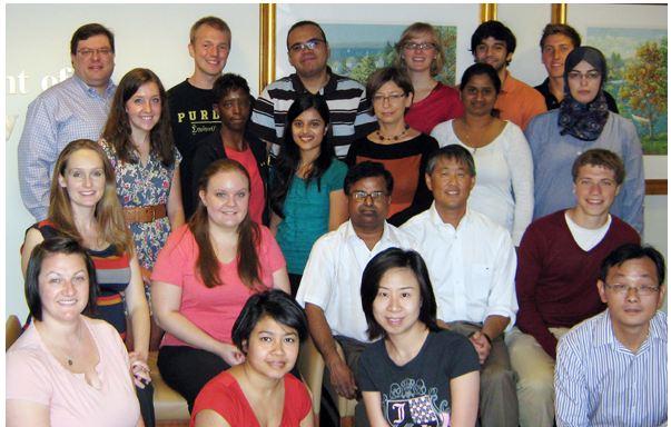 Herbert Chen, MD, Lab Team, University of Wisconsin Carbone Cancer Center