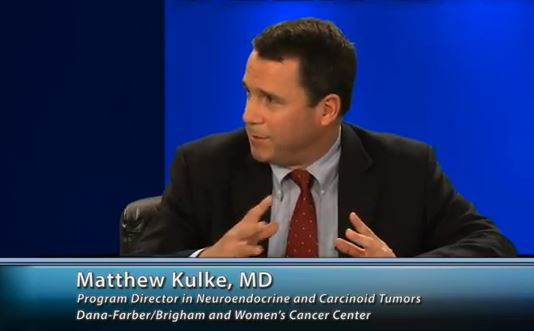 Dr. Matthew Kulke is moderator for OncLive TV series on Neuroendocrine Tumors
