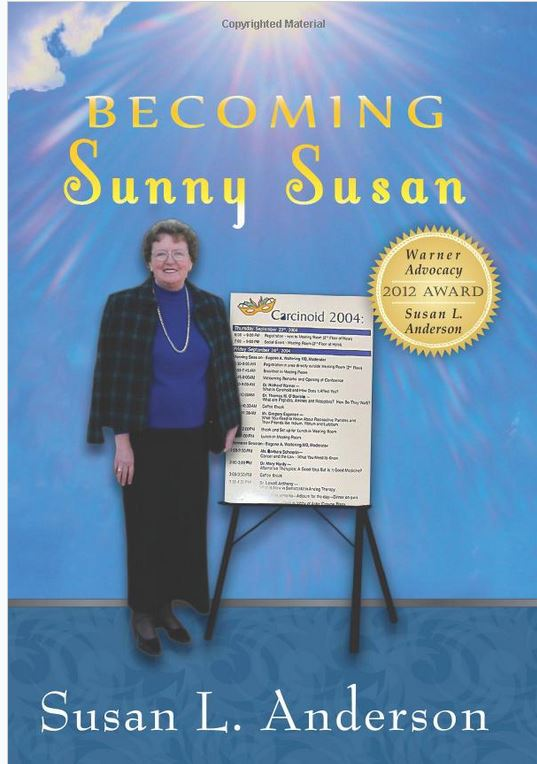 Susan Anderson's Book, Becoming Sunny Susan