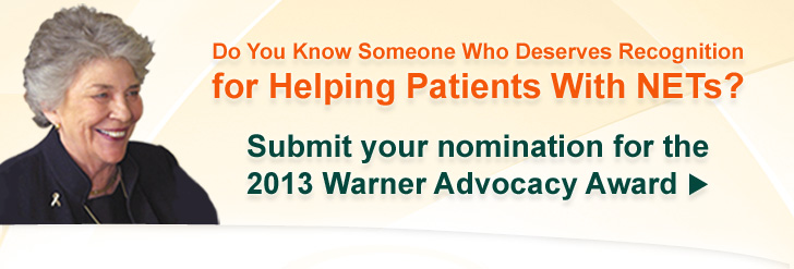 Warner Advocacy Award 2013: Call for Nominations