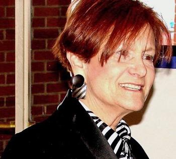 Suzi Garber, editor of Zebra Talk