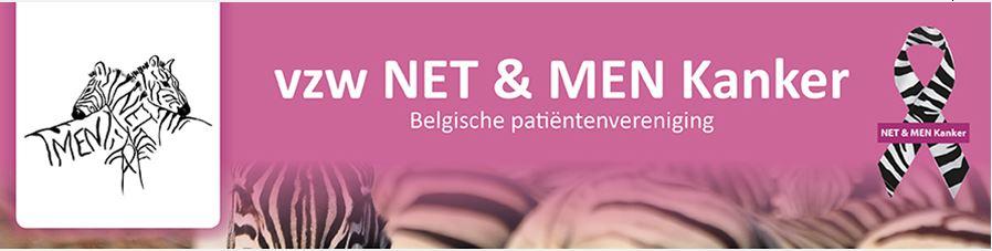 Belgium vzw NET & MEN Kanker logo