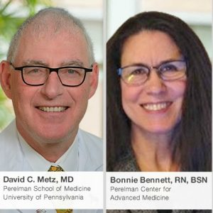 Carcinoid Syndrome, Live Online Event, June 2018, Dr. David Metz, Bonnie Bennett