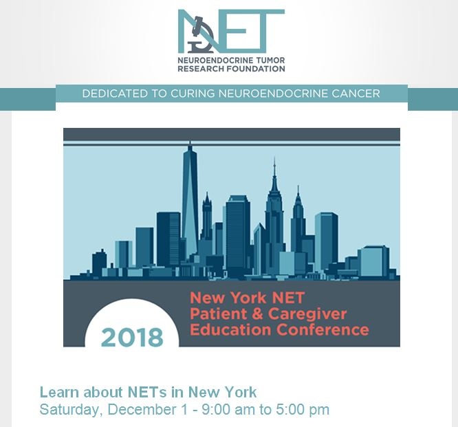 NETRF NYC conference, December 1, 2018