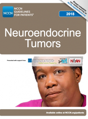 NCCN Neuroendocrine Tumor Guidelines for Patients 2018