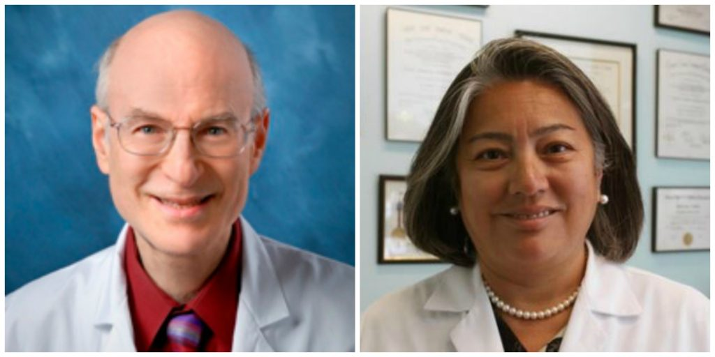 Luncheon with the Experts, Drs. Edward Wolin and Celia Divino, March 2019