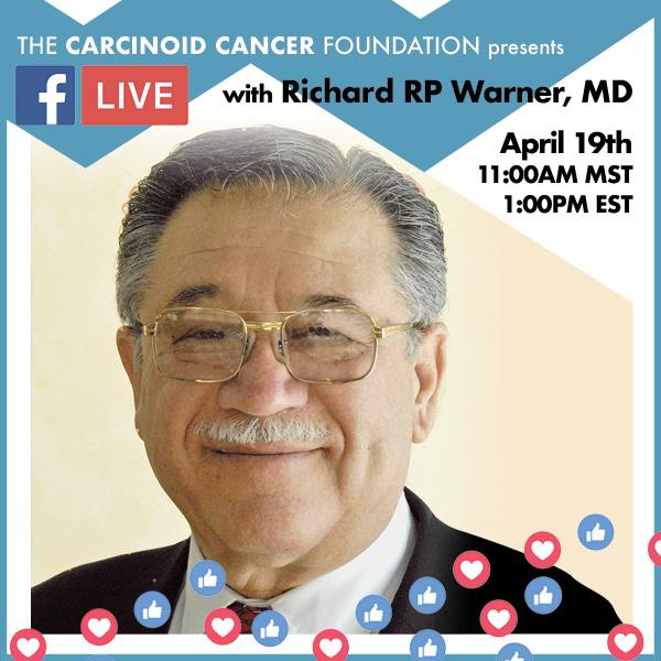 Facebook Live with Dr. Richard Warner, April 2019