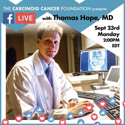 Facebook Live with Dr. Thomas Hope, Sept 23, 2019