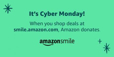 Amazon Smile Cyber Monday 2019 Twitter