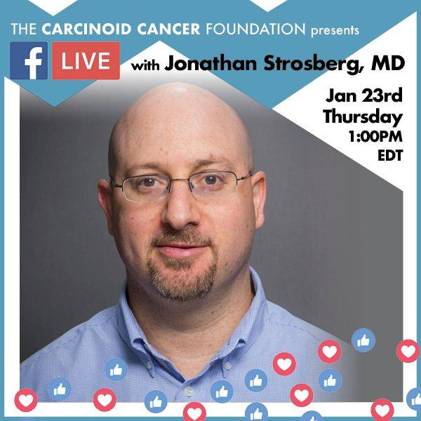 Facebook Live with Dr. Jonathan Strosberg, January 23, 2020