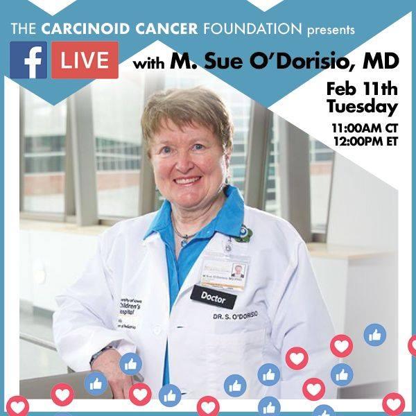 Facebook Live with Dr. M. Sue O'Dorisio