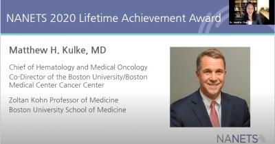 NANETS 2020 Lifetime Achievement Award, Dr. Matthew Kulke