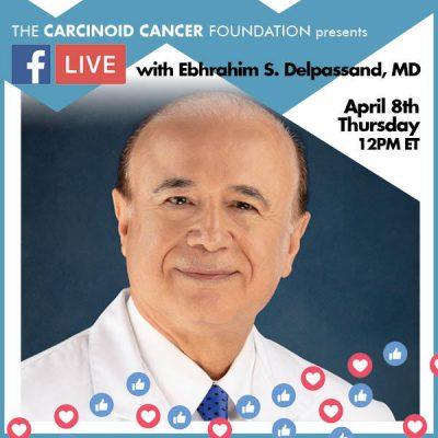 CCF FB LIVE Ebhrahim S. Delpassand, MD April8