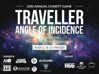 Traveller Charity Event, May 1, 2021