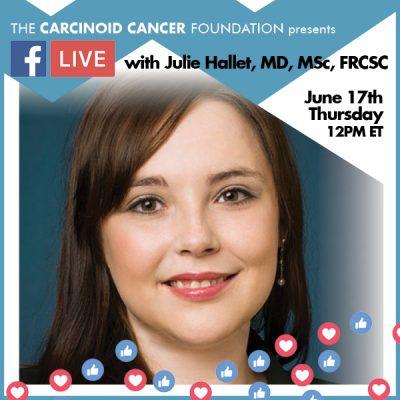 CCF FB LIVE Julie Hallet, MD, MSc, FRCSC June17